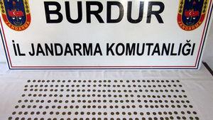 Burdur'da tarihi eser kaçakçılığı operasyonu