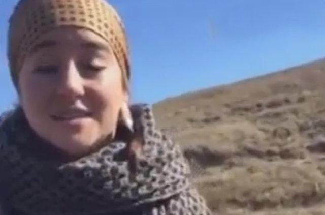 Hollywood yıldızı Shailene Woodley canlı yayında gözaltına alındı