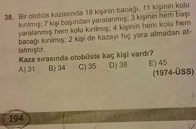 Sınavlarda sorulan en ilginç sorular!