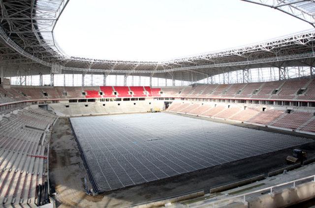 Samsun 19 Mayıs Stadı'nın yapımında Nou Camp'tan esinlenildi!
