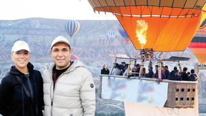 Burcu Esmersoy Kapadokya'da