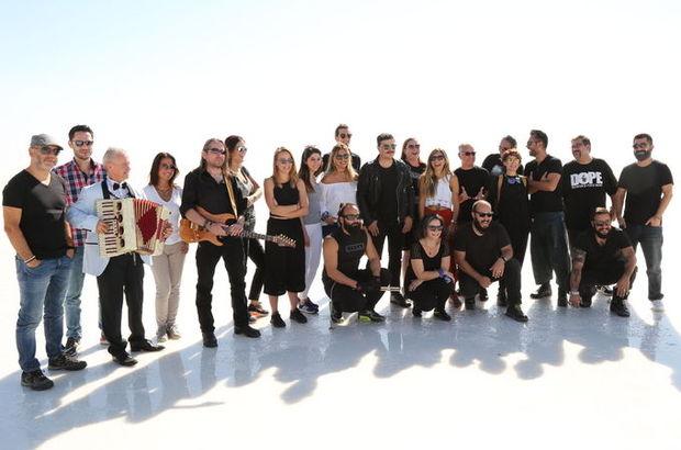 Motto Müzik, sezonu Tuz Gölü'nde açtı