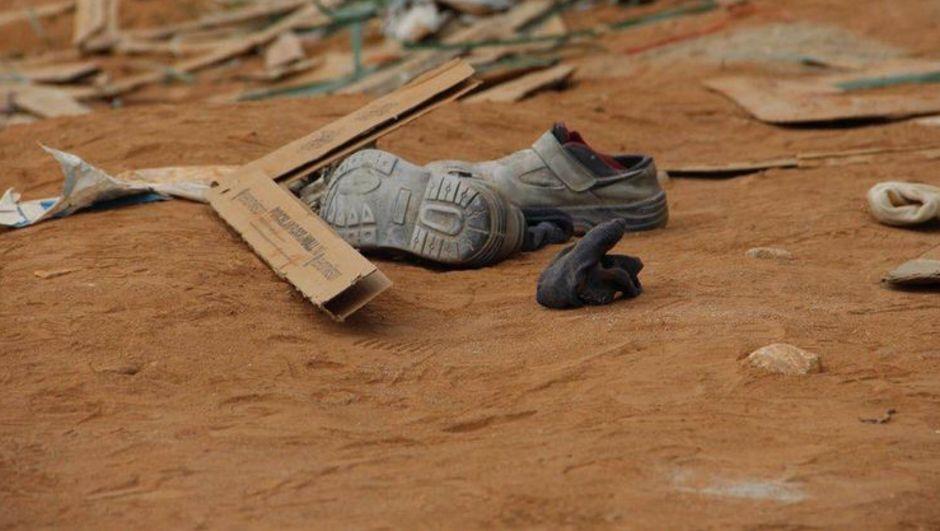 Okul inşaatından düşen işçi öldü