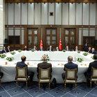 Cumhurbaşkanı Erdoğan, Beştepe'de Muharrem ayının 10'uncu gününde iftar verdi