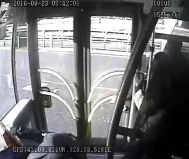 Metrobüs saldırganı şoförü suçladı