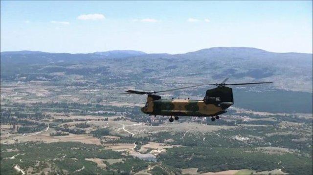 TSK yeni helikopterinin fotoğrafını paylaştı