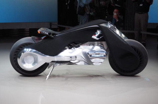 BMW Motorrad Vision Next 100'ü tanıttı