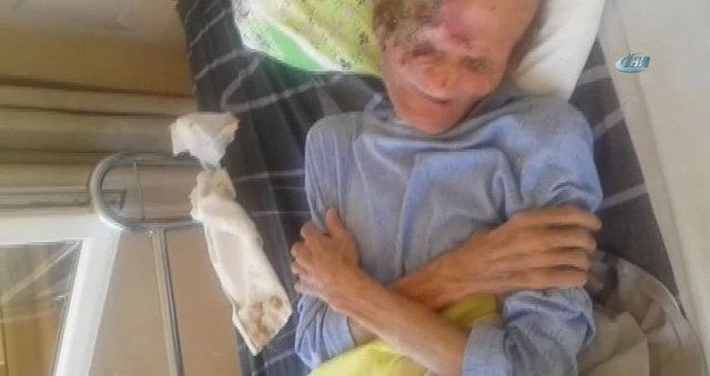 Görüntüleriyle yürekleri sızlatan yaşlı adam öldü