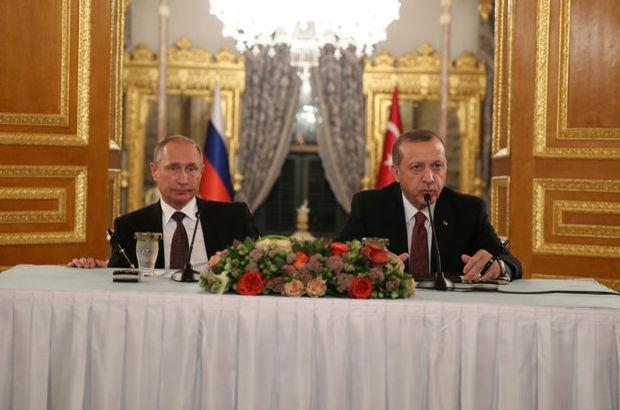 Cumhurbaşkanı Erdoğan  Rusya Devlet Başkanı Putin MABEYN ZİRVESİ