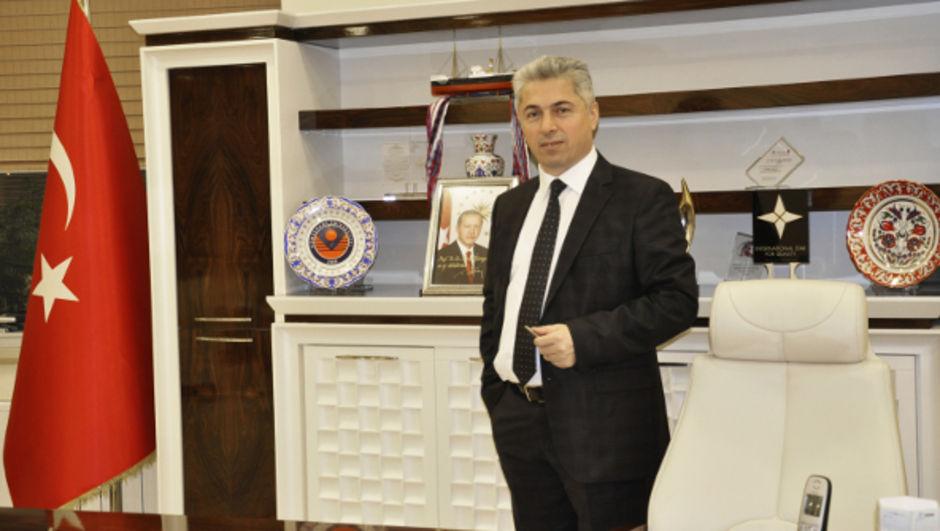Gümüşhane Üniversitesi Rektörü İhsan Günaydın