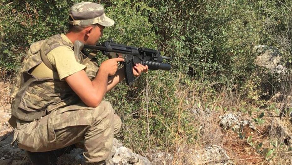 Tunceli PKK Beton mikseri