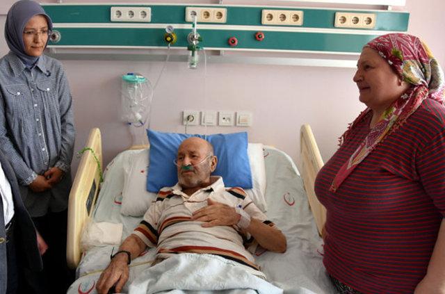 1 yatakta 1 yılda 60 hasta tedavi gördü!