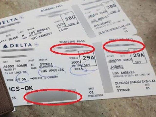 Uçak biletlerini sosyal medya hesaplarından paylaşanlar dikkat!