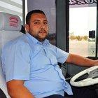 Otobüs şoförü, fenalaşan yolcuyu hastaneye ulaştırdı