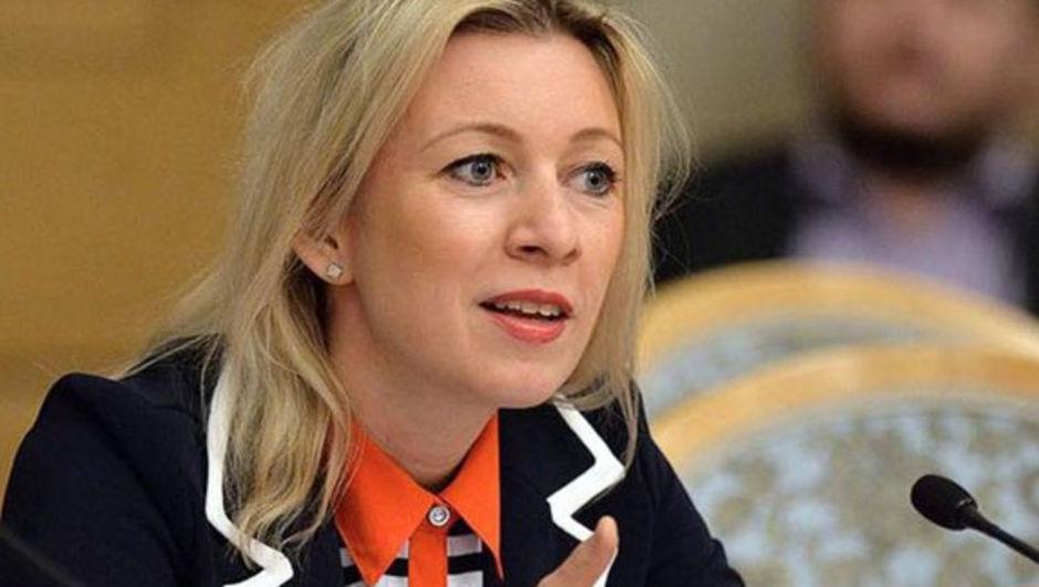 Maria Zaharova rusya suriye