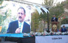 Bakan Özhaseki, 1 milyon 500 bin metrekare alanda 4 bin 500 konutun startını verdi