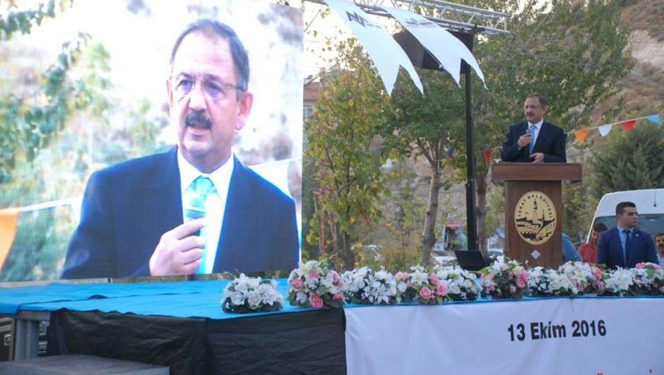 Bakan Özhaseki dev projeye startı verdi