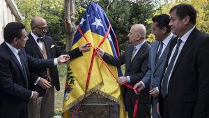 Ankara Üniversitesine Venezuelalı General Miranda'nın heykeli