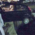 Zonguldak'ta otomobil son anda kurtarıldı!