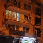 Aydın'da balkondan düşen genç son anda kurtuldu