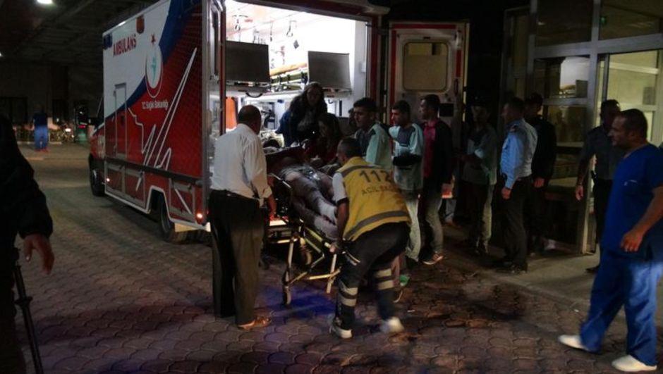 Suriye Kilis patlama Türkiye sınır