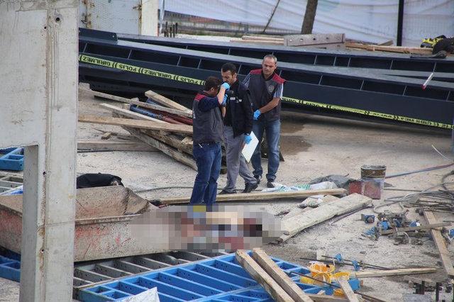 Vince bağlı sepet düştü, 2 işçi öldü