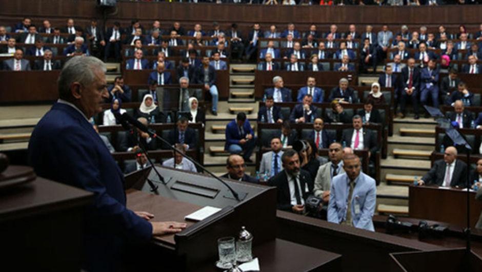 Başkanlık teklifi AK Parti Başkanlık sistemi