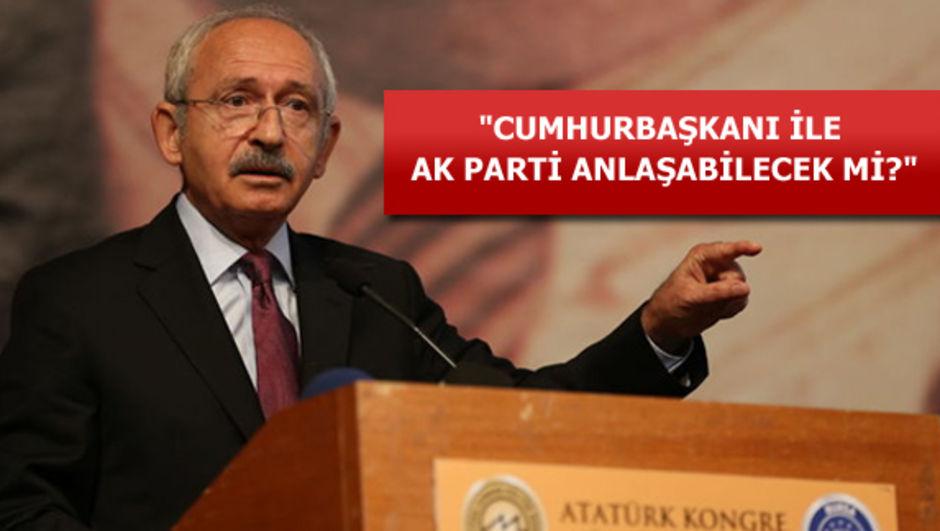 CHP lideri Kemal Kılıçdaroğlu MYK toplantısın AK Parti