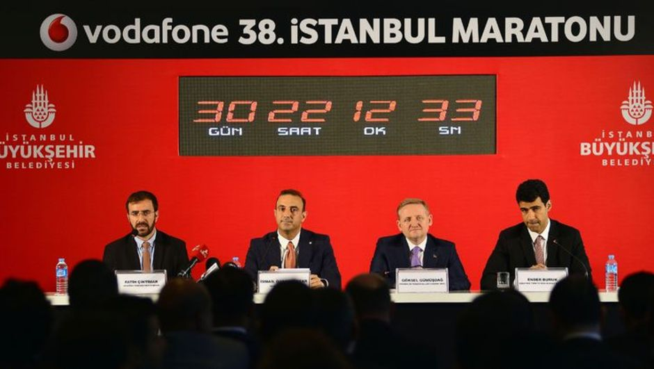 Göksel Gümüşdağ Vodafone İstanbul Maratonu
