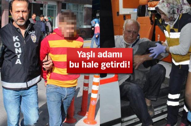 Konya'da satırlı dehşet!