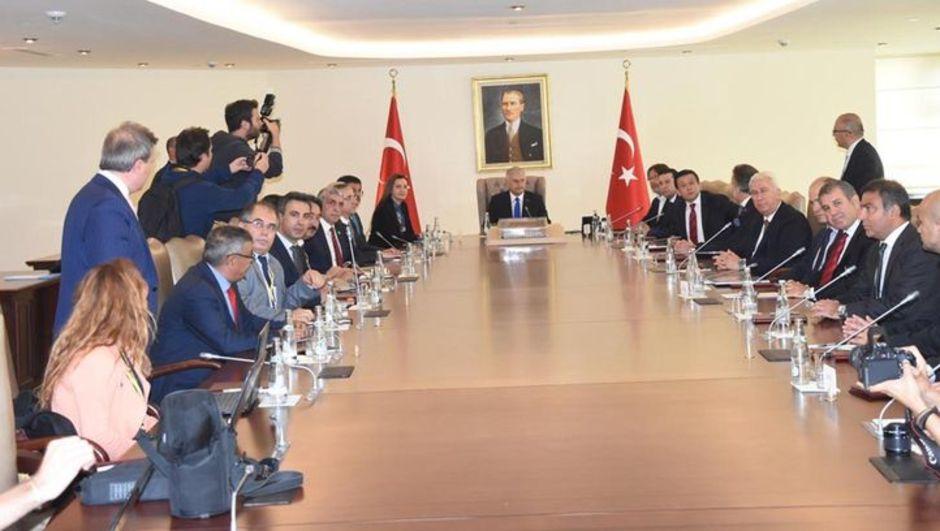 Başbakan Binali Yıldırım Göztepe Karşıyaka Altınordu