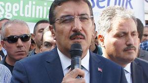 Gümrük Bakanı Tüfenkci: Anayasa kabul edilirse referanduma gidilecek