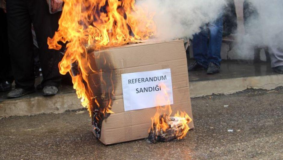 Gümüşhane'de köylünün referandum isyanı