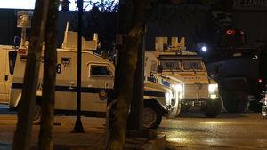 Yüksekova'da polise bombalı ve roketli saldırı
