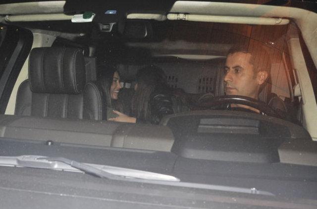 Kıvanç Tatlıtuğ-Başak Dizer ve Wesley Sneijder-Yolanthe Cabau çifti gecelerde