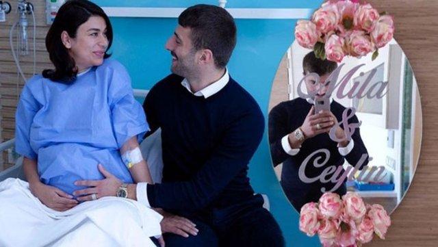 Ebru Şancı anne oldu