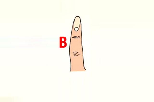 Parmak şekliniz karakterinizi yansıtıyor!