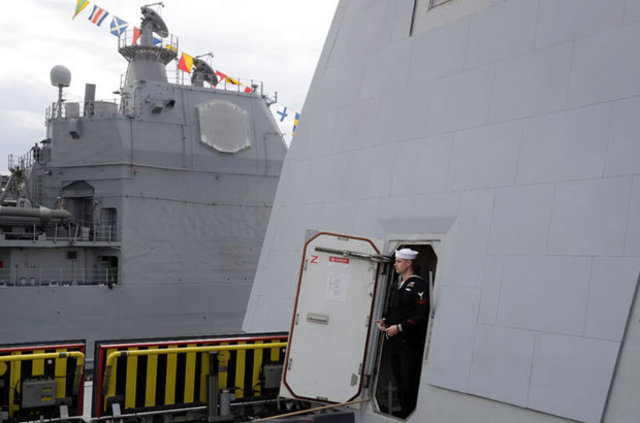 ABD'nin 'Hayalet Gemisi Zuwalt' görev başında