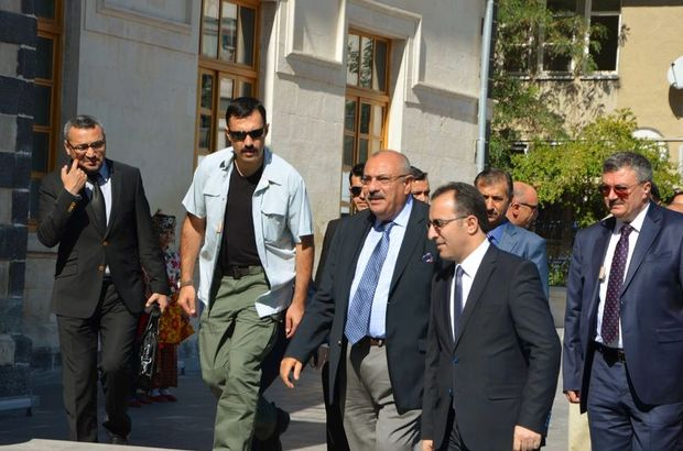 Başbakan Yardımcısı Türkeş, Kilis'te