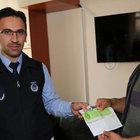 Sivas'ta bir vatandaş yolda 100 bin liralık çek buldu