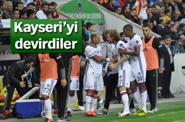 Kayserispor - Beşiktaş canlı takip