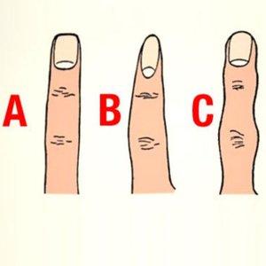 Parmak şekliniz kişiliğinizi yansıtıyor!