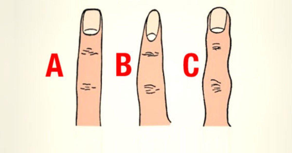 Parmak şekliniz karakterinizi yansıtıyor! - Yaşam Güncel Haberler