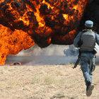 Afganistan'da 5 ton uyuşturucu yakılarak imha edildi