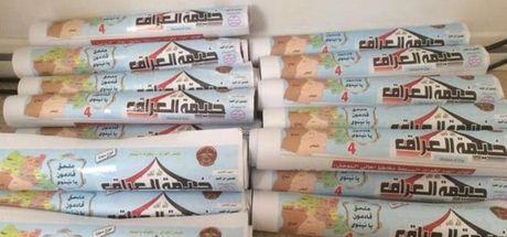 Musul halkına havadan binlerce broşür atıldı!