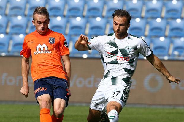 Başakşehir: 1 - Konyaspor: 1