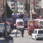 GAZİANTEP'TE CANLI BOMBA KENDİNİ PATLATTI! 3 POLİS ŞEHİT OLDU