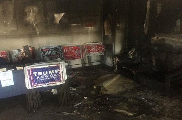 Cumhuriyetçi Parti ofisine saldırı