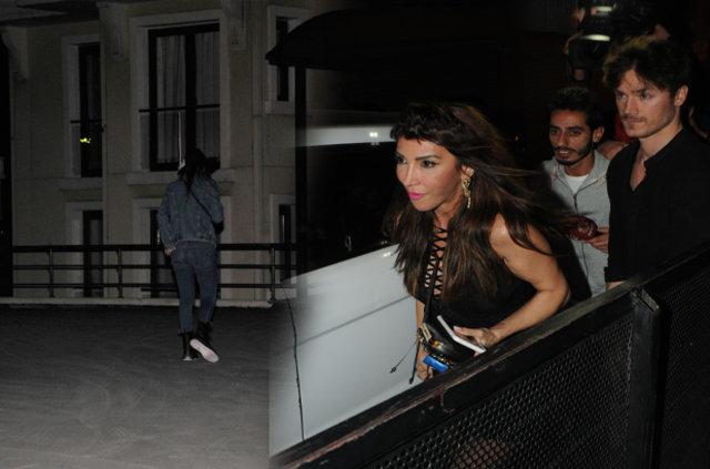 Hande Yener sevgilisiyle Cihangir'de objektiflere takıldı
