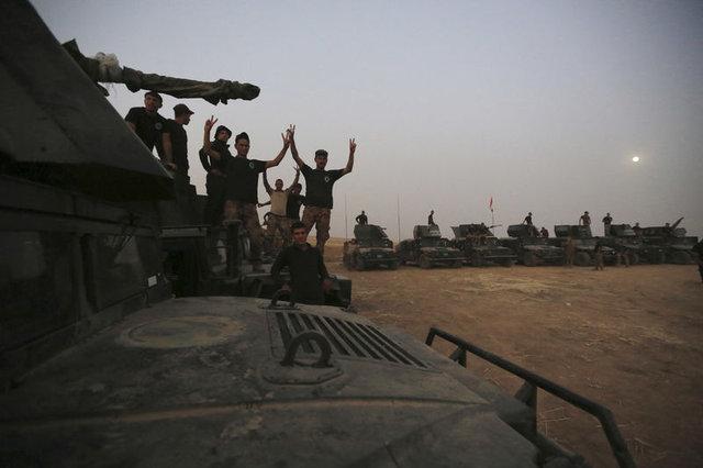 Musul Operasyonu'ndan ilk kareler